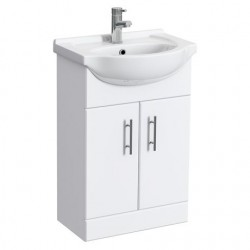 Classic Vanity Unit Cabinet with Basin 550 mm